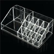 clear acrylic makeup organizer with drawers acrylic clear cube makeup organizer w drawers displayclear makeup organizer