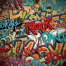 grunge graffiti background vector graphic