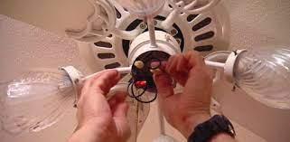 fix a paddle ceiling fan light switch