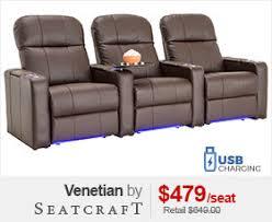 media room seating furniture. Seatcraft Venetian Media Room Chairs Seating Furniture I