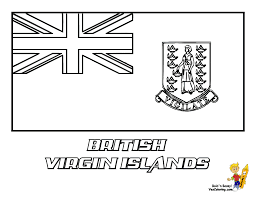 Virgin Islands Coloring Pages