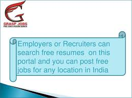 Ppt Resume Search Online Job Posting Jobs In India Job
