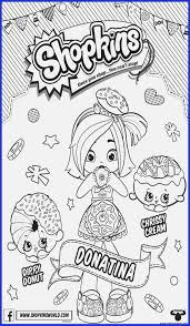 Coloring Pages Shopkins Coloring Pages Cute Girls Download Print