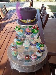 Mad Hatter Cake Designs Mossys Masterpiece Sharnnas 13th Birthday Alice In