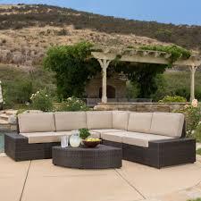 Outdoor Patio Furniture Wicker Set