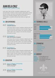 Gallery Of 25 Best Free Professional Cv Resume Templates 2014 Top
