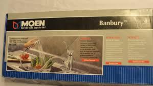Moen Legend Kitchen Faucet Upc 026508123737 Moen Banbury Pullout Kitchen Faucet 87325c