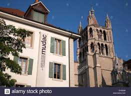Design Museum Switzerland Mudac Design Museum And Cathedral Tower Lausanne