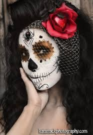 maxican day of the dead makeup 2