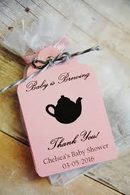Chevron Elephant Baby Shower Favor Tags Elephant PrintableBaby Shower Tag