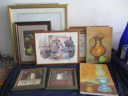 Kitchen framed art Small Lot 48 Kitchen Theme Framed Art Vidalcuglietta Kitchen Theme Framed Art Prime Time Auctions