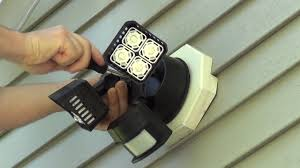 How To Install A Security Light From Scratch How To Install A Floodlight Or Security Light