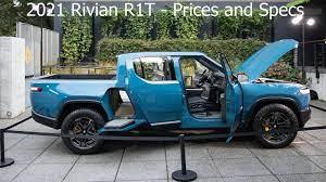 2021 Rivian R1T – Explore, Adventure ...