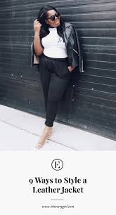 a leather jacket is a staple in any well rounded closet this piece transitions effortlessly from season to season without need for expensive upkeep