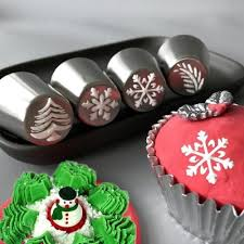 Craftscapitol Premium Christmas Edition Baking Russian Piping Tips