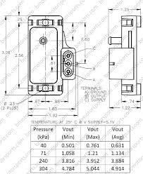 Delphi Gm 3 Bar Style Map Sensor 12223861 16040749 Us Made