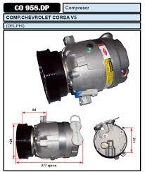 compresor de aire acondicionado de autos. acondicionado delphi compresor aire de autos o