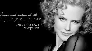 Acting Quotes Beauteous WALLPAPER Nicole Kidman Quote On Acting With Photo ActorSpeak