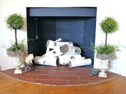 faux fireplace decor faux fireplace decorating ideas fireplace decor ideas fake images birch logs mantel with