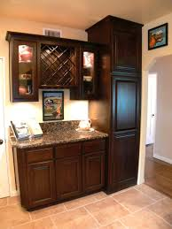 pretty wall mounted kitchen cabinet winec racks features brown color wooden kitchen cabinets with smlfimage source