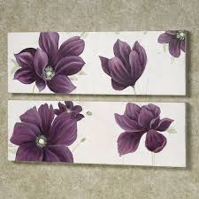 wall art designs top purple canvas wall art uk purple canvas purple pertaining to brilliant household purple flower wall decor prepare