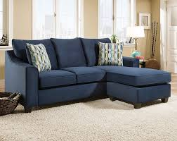 Discount Sectional Sofas Couches American Freight As Well As Beautiful Blue  Sectional Sofa (View 8