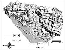 Sistema montañoso loc nom mlocución nominal masculina: Segmentacion Del Frente Montanoso Download Scientific Diagram