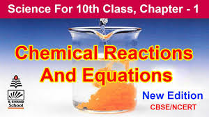 chemical reactions and equations class 10 in hindi class 10 science chemistry science in hindi