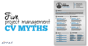 five project management cv myths  five project management cv myths