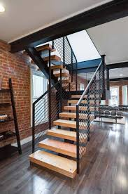 ... steel stringers2  34th stairs - Mono stringer stair case3 ...