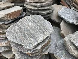 oyster quartzite round stepping stones
