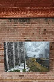 how to hang art on brick walls art