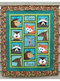 Animal Quilt Patterns Awesome Animal Quilt Patterns Forest Friends Quilt Pattern