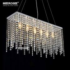 contemporary pendant lighting fixtures. contemporary crystal pendant light fixture rectangle hanging drop lamp stainless steel lustre for living roomin lights from lighting fixtures