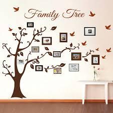 photos family tree photo frame wall e art stickers vinyl decals