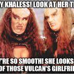 klingon females Meme Generator - Imgflip via Relatably.com