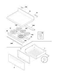 Frigidaire glef378cqb electric range timer stove clocks and rh appliancetimers