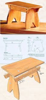 Simple Furniture Plans 239 Best Chairs Bench Images On Pinterest Wood Wood Projects