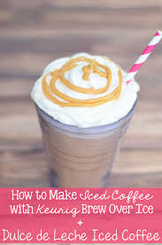 Having the right coffee maker can make a big difference in the ease of preparation and the great results that choose the best keurig coffee maker for iced beverages. How To Make Iced Coffee Dulce De Leche Iced Coffee Recipe