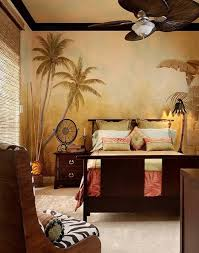 Safari Bedroom For Adults Safari Bedroom Design Ideas With Painted Walls And Wooden
