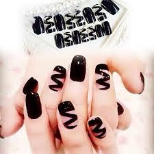 Nehtové Tipy Umělé Nehty Nail Art Salon Design Make Up Kosmetické