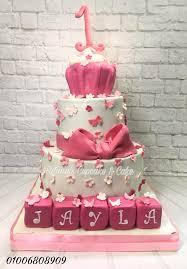 Happy 1st Birthday Princess Jayla Fatimas Cupcake Cake Facebook