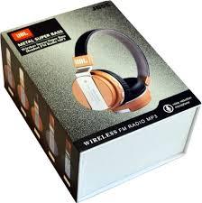 jbl headphones wireless gold. jbl jb55 metal super bass wireless headphones - white in gold jbl e