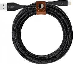 Купить <b>Кабель Belkin</b> DuraTek+ <b>USB-A</b>/Lightning, 1,2 м, черный ...