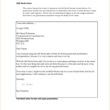 Bunch Ideas Of Full Block Format Complaint Letter Also Template