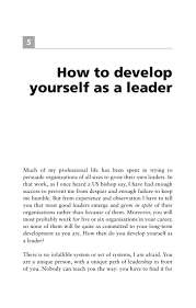 develop your leadership skill
