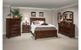 cherry bedroom furniture. Prescott King Cherry Bedroom Set , Queen - Bernards Furniture, My Furniture Place