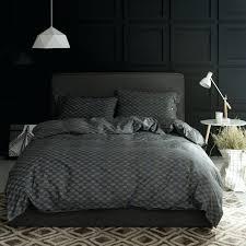 dark gray comforter sets home plans noble geometric bedding queen king grey velvet bedspread