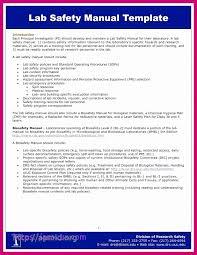 Free Signage Template Osha Safety Manual Template Example Safety Manual Template