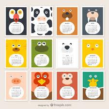 Calendario 2015 Argentina Calendario De Animales 2015 Descargar Vectores Gratis